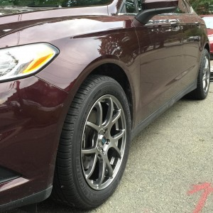 New Michelin tires on new Enkei wheels InstalledAtHome in Bostonhellip